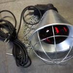 Warmtelamp, compleet € 29,95